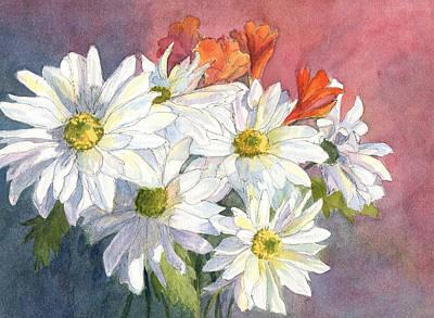 Painting - Daisies by Vikki Bouffard