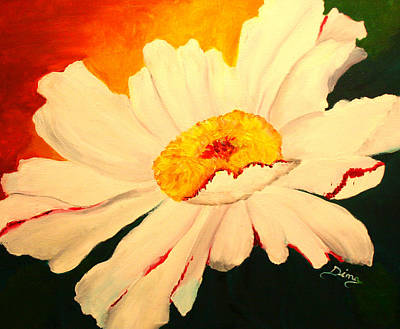 Painting - Daisy by Dina Jacobs