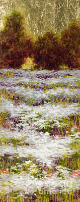 Painting - Daisy Field Series by Vic  Mastis