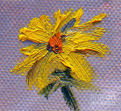 Flower Painting - Daisy by Marietjie Du Toit