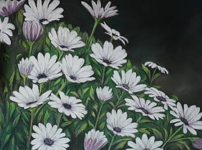Daisy Mum Art Print by Charlotte Yealey