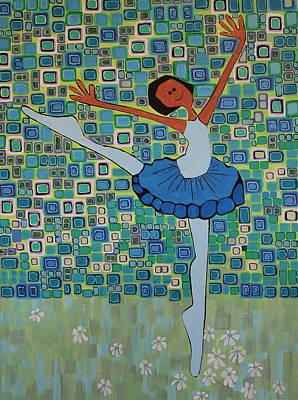 Daizies' Ballet Art Print