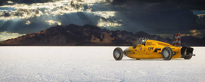 Bonneville Photograph - Dakota 158 by Keith Berr