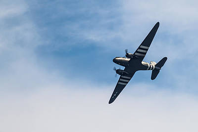 Photograph - Dakota D-day Markings by Scott Lyons