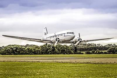 Transportion Photograph - Dakota Take-off by Chris Smith