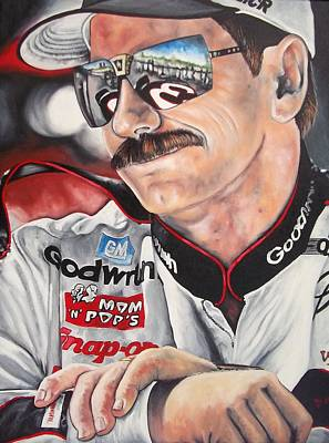 Dale Earnhardt Painting - Dale by D A Nuhfer
