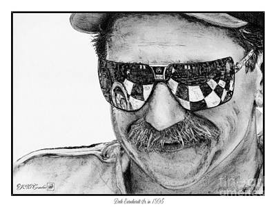 Dale Earnhardt Sr In 1995 Art Print by J McCombie