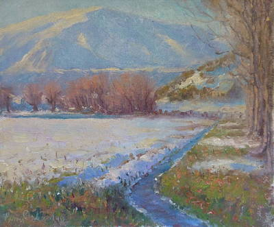 Painting - Dalefield. Queenstown Nz. by Terry Perham