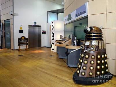 Dalek At The Bbc Original by John Chatterley