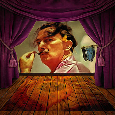 Salvador Dali Painting - Dali by Anthony Caruso