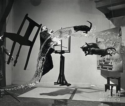 Surrealist Photograph - Dali Atomicus (1948) by Library Of Congress