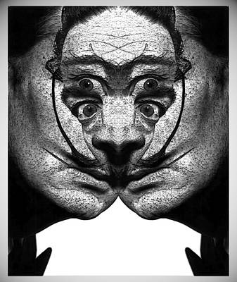 Digital Art - Dali Flipped 4 by Zac AlleyWalker Lowing