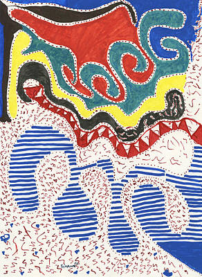 Dali Like Painting - Dali Like by Sirron Kyles