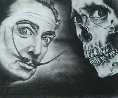 Dali Meets The Dead Art Print