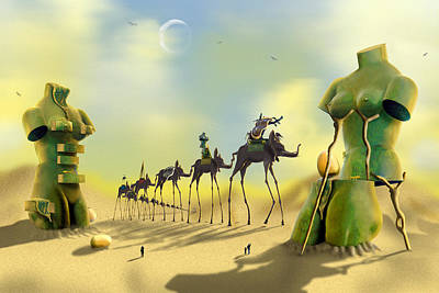 Christmas Patents - Dali on the Move  by Mike McGlothlen
