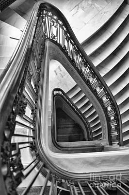 Dali Stairs Art Print