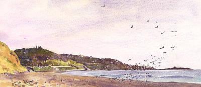 Dalkey Killiney Bay County Dublin Art Print