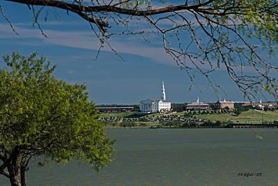 Photograph - Dallas Baptist University by Allen Sheffield
