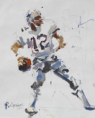 Dallas Cowboys - Roger Staubach Art Print