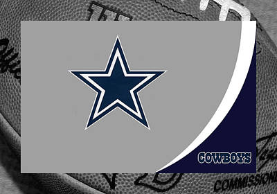 Dallas Cowboys Art Print by Joe Hamilton