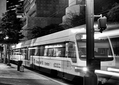 Photograph - Dallas Dart Downtown Bw 021115  by Rospotte Photography
