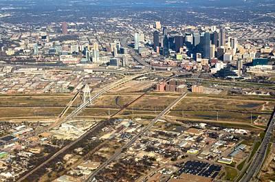 Photograph - Dallas From Above by Ricardo J Ruiz de Porras