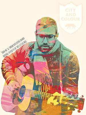 Dallas Green Of City And Colour Original by Mops