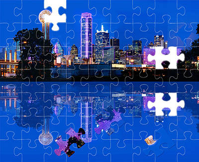 Photograph - Dallas Is A Puzzle by Jim Martin