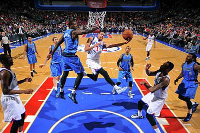 Photograph - Dallas Mavericks  V Philadelphia 76ers by Jesse D. Garrabrant