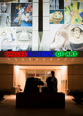 Photograph - Dallas Museum Of Art 021915 by Rospotte Photography