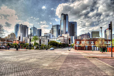 Dallas Near Farmers Market Art Print