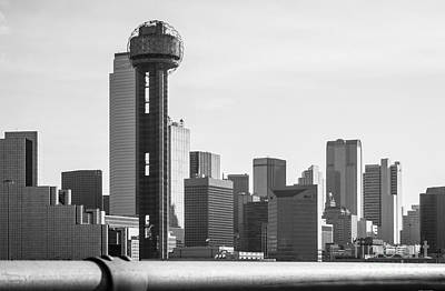 Photograph - Dallas Skyline Cityscape by Imagery by Charly