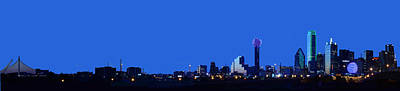 Photograph - Dallas Skyline From The South by Jim Martin