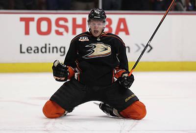 Photograph - Dallas Stars V Anaheim Ducks - Game Five by Jeff Gross