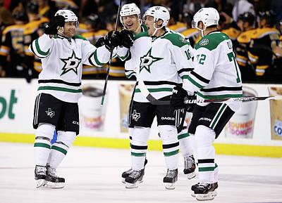 Photograph - Dallas Stars V Boston Bruins by Jared Wickerham