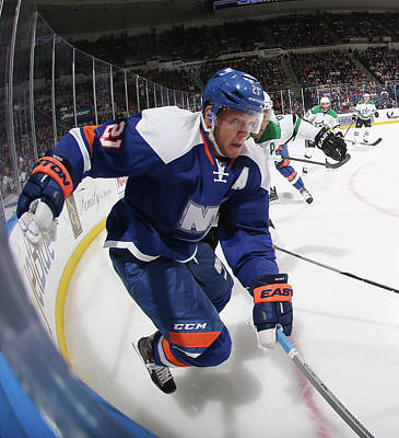 Photograph - Dallas Stars V New York Islanders by Bruce Bennett
