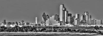 Skylines Royalty-Free and Rights-Managed Images - Dallas the new Gotham City  by Jonathan Davison