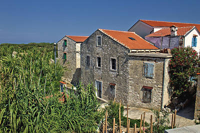 Photograph - Dalmatian Architecture Island Of Susak by Brch Photography