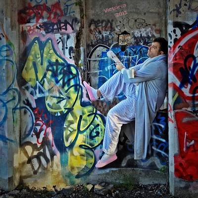 Dalyn At The Graffiti Underground Art Print