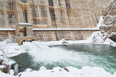 Photograph - Dam Cold  by Fran Riley
