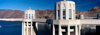 Hoover Dam Photograph - Dam On A River, Hoover Dam, Colorado by Panoramic Images