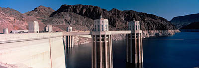 Hoover Dam Photograph - Dam On The River, Hoover Dam, Colorado by Panoramic Images