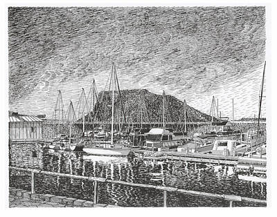 Dam Site Marina Elephant Butte Art Print by Jack Pumphrey