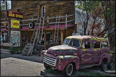 Photograph - Dam Store by Erika Fawcett