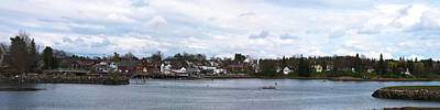 Damariscota Maine Photograph - Damariscotta  by Guy Whiteley