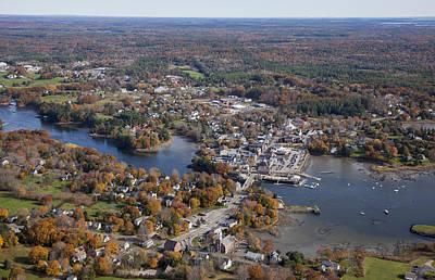 Damariscotta Photograph - Damariscotta, Maine by Dave Cleaveland