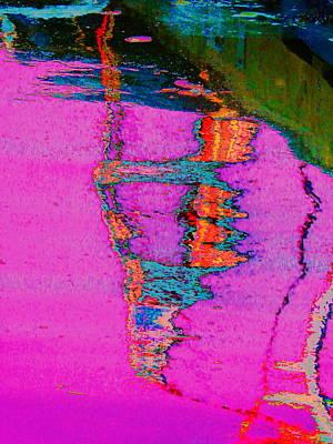 Photograph - Damariscotta Reflections by Expressionistart studio Priscilla Batzell