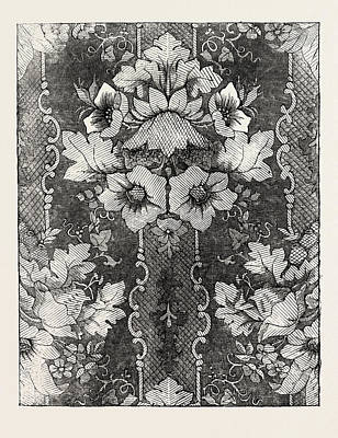 Damask Drawing - Damask, Halifax by English School