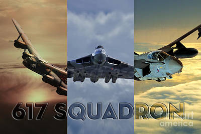 Tornado Digital Art - Dambusters Legend by J Biggadike