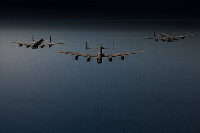 Photograph - Dambusters Second Flight by Gary Eason